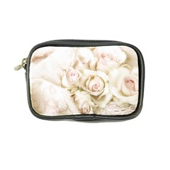 Pastel Roses Antique Vintage Coin Purse