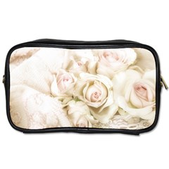 Pastel Roses Antique Vintage Toiletries Bags