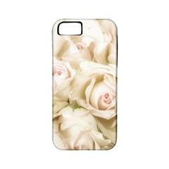 Pastel Roses Antique Vintage Apple Iphone 5 Classic Hardshell Case (pc+silicone)