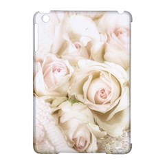 Pastel Roses Antique Vintage Apple Ipad Mini Hardshell Case (compatible With Smart Cover)