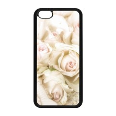 Pastel Roses Antique Vintage Apple Iphone 5c Seamless Case (black)