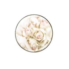 Pastel Roses Antique Vintage Hat Clip Ball Marker (10 Pack)