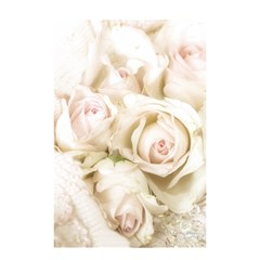 Pastel Roses Antique Vintage Shower Curtain 48  X 72  (small)