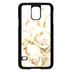 Pastel Roses Antique Vintage Samsung Galaxy S5 Case (black)