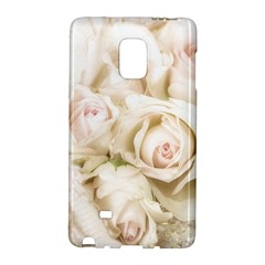 Pastel Roses Antique Vintage Galaxy Note Edge