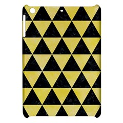 Triangle3 Black Marble & Yellow Watercolor Apple Ipad Mini Hardshell Case