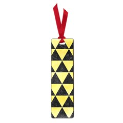 Triangle3 Black Marble & Yellow Watercolor Small Book Marks