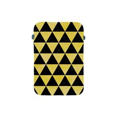 Triangle3 Black Marble & Yellow Watercolor Apple Ipad Mini Protective Soft Cases