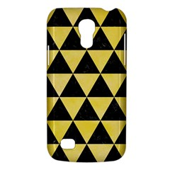 Triangle3 Black Marble & Yellow Watercolor Galaxy S4 Mini