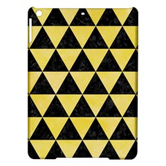 Triangle3 Black Marble & Yellow Watercolor Ipad Air Hardshell Cases