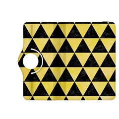 Triangle3 Black Marble & Yellow Watercolor Kindle Fire Hdx 8 9  Flip 360 Case