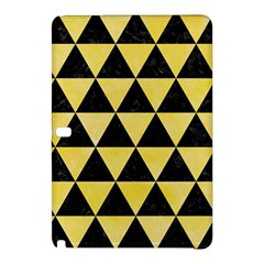 Triangle3 Black Marble & Yellow Watercolor Samsung Galaxy Tab Pro 12 2 Hardshell Case