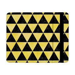 Triangle3 Black Marble & Yellow Watercolor Samsung Galaxy Tab Pro 8 4  Flip Case