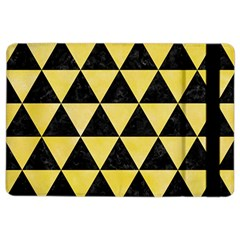 Triangle3 Black Marble & Yellow Watercolor Ipad Air 2 Flip