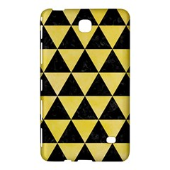 Triangle3 Black Marble & Yellow Watercolor Samsung Galaxy Tab 4 (7 ) Hardshell Case