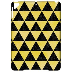 Triangle3 Black Marble & Yellow Watercolor Apple Ipad Pro 9 7   Hardshell Case