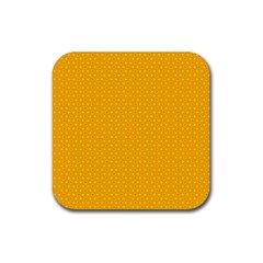 Texture Background Pattern Rubber Square Coaster (4 Pack)