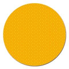 Texture Background Pattern Magnet 5  (round)
