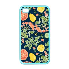 Summer Fruite Orange Lemmon Tomato Apple Iphone 4 Case (color)