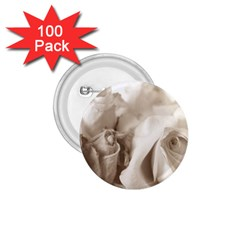 Vintage Rose Shabby Chic Background 1 75  Buttons (100 Pack)