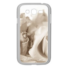 Vintage Rose Shabby Chic Background Samsung Galaxy Grand Duos I9082 Case (white)