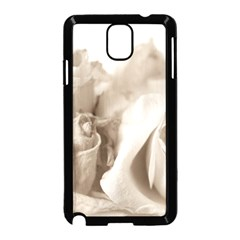 Vintage Rose Shabby Chic Background Samsung Galaxy Note 3 Neo Hardshell Case (black)