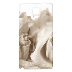 Vintage Rose Shabby Chic Background Galaxy Note 4 Back Case