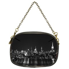 New York Skyline Chain Purses (two Sides)
