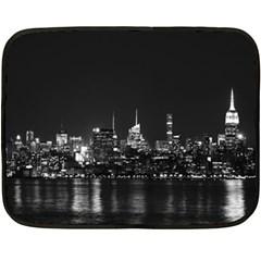 New York Skyline Fleece Blanket (mini)