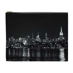 New York Skyline Cosmetic Bag (xl)