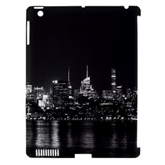 New York Skyline Apple Ipad 3/4 Hardshell Case (compatible With Smart Cover)