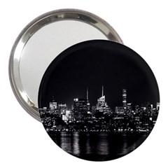 New York Skyline 3  Handbag Mirrors