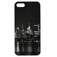 New York Skyline Apple Iphone 5 Hardshell Case With Stand