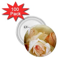 Roses Vintage Playful Romantic 1 75  Buttons (100 Pack)