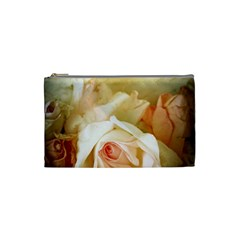 Roses Vintage Playful Romantic Cosmetic Bag (small)