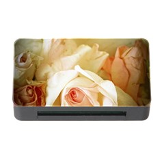 Roses Vintage Playful Romantic Memory Card Reader With Cf