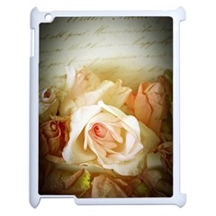 Roses Vintage Playful Romantic Apple Ipad 2 Case (white)