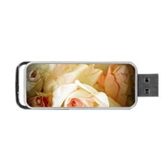 Roses Vintage Playful Romantic Portable Usb Flash (two Sides)