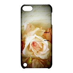 Roses Vintage Playful Romantic Apple Ipod Touch 5 Hardshell Case With Stand