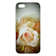 Roses Vintage Playful Romantic Apple Iphone 5 Premium Hardshell Case