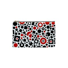 Square Objects Future Modern Cosmetic Bag (small)
