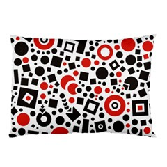 Square Objects Future Modern Pillow Case (two Sides)