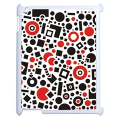 Square Objects Future Modern Apple Ipad 2 Case (white)