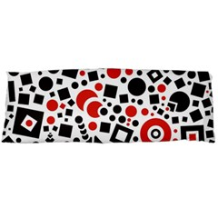 Square Objects Future Modern Body Pillow Case (dakimakura)