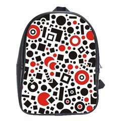 Square Objects Future Modern School Bag (xl)