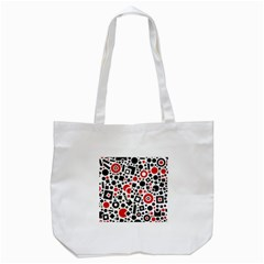 Square Objects Future Modern Tote Bag (white)
