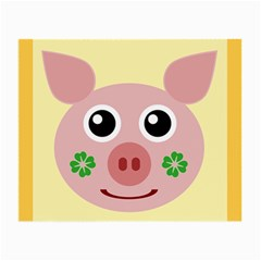 Luck Lucky Pig Pig Lucky Charm Small Glasses Cloth (2 Side)