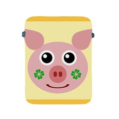 Luck Lucky Pig Pig Lucky Charm Apple Ipad 2/3/4 Protective Soft Cases
