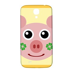 Luck Lucky Pig Pig Lucky Charm Samsung Galaxy S4 I9500/i9505  Hardshell Back Case