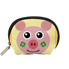 Luck Lucky Pig Pig Lucky Charm Accessory Pouches (small)
